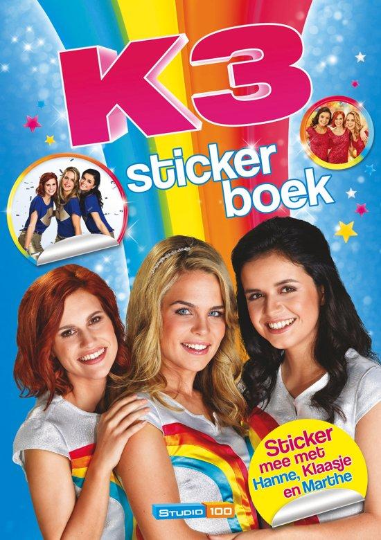 Afbeelding van K3 stickerboek