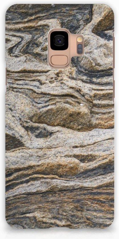 Samsung Galaxy S9 Hardcase Hoesje Design Steen