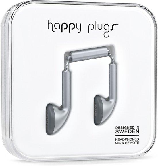 Happy Plugs Earbud - In-ear oordopjes - Grijs