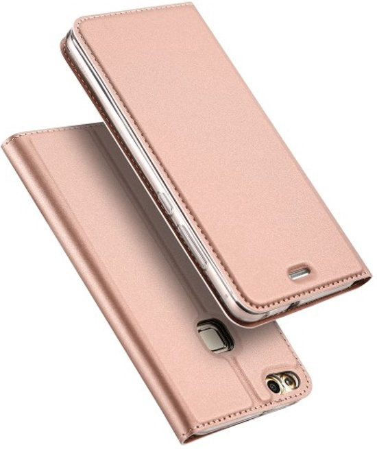 tui Portefeuille De Luxe Rose Pour Huawei Lite P10 OvcIyPZhW