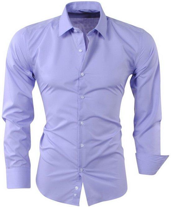 Paars Heren Overhemd.Bol Com Pradz Heren Overhemd Paars