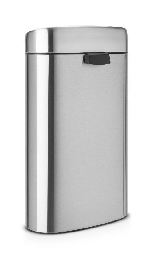 Touch Bin 40 Liter Aanbieding.Brabantia Touch Bin Prullenbak 40 L Matt Steel Fingerprint Proof