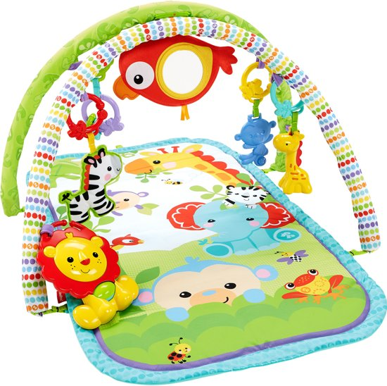 Afbeelding van Fisher-Price 3-in-1 Muzikale Activity Gym Rainforest Friends - Speelkleed speelgoed