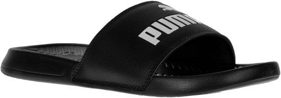 Popcat black Black 5 white Slippers Unisex Maat Puma 35 Zxwqdn7d