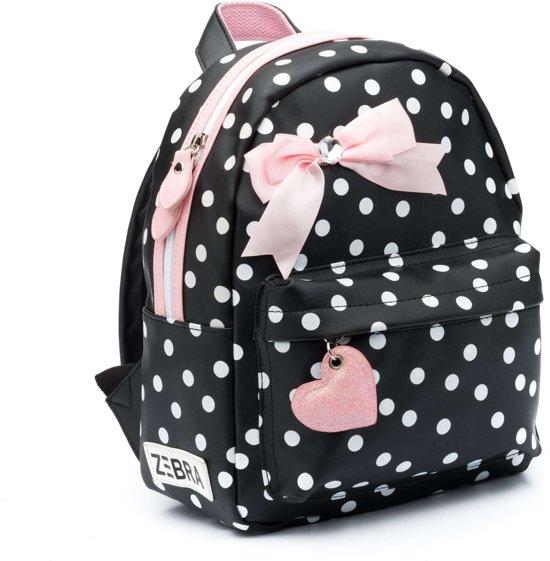 72ee23ca6d1 bol.com | Zebra Trends Girls Rugzak S Dots Black