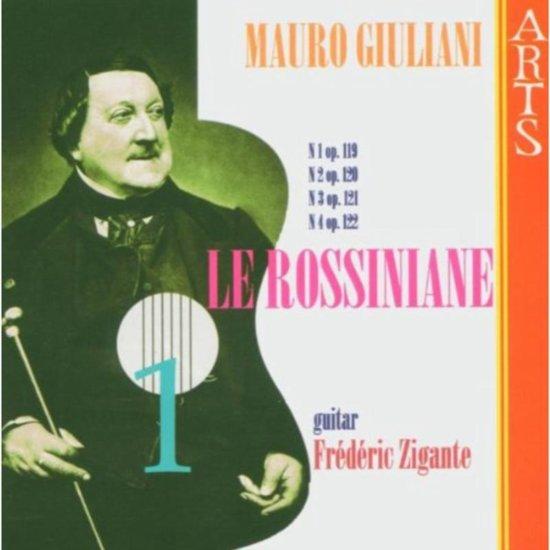 Giuliani: Le Rossiniane Vol 1 / Frederic Zigante