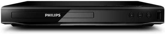 Philips DVP2850 - DVD speler (zonder HDMI aansluiting) - Zwart