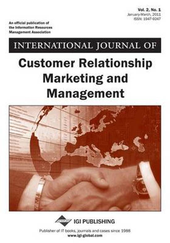 business marketing and international journal International journal of online marketing (ijom): 2156-1753, 2156-1745: business is&t journals.