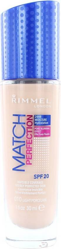Rimmel London Match Perfection Foundation - 010 Light Porcelain
