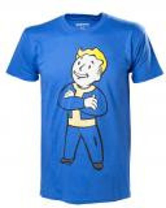 Merchandising FALLOUT 4 - T-Shirt Vault Boy with Crossed Arms (M)