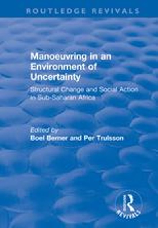 Manoeuvring in an Environment of Uncertainty