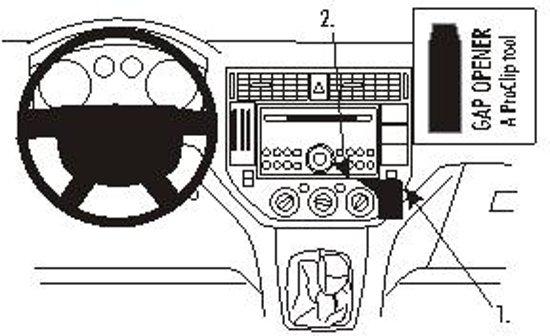 Brodit angled mount v. Ford Focus C Max 04-