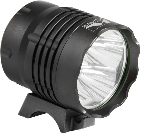 M-Wave Apollon Ultra - Koplamp - LED - Accu - Zwart