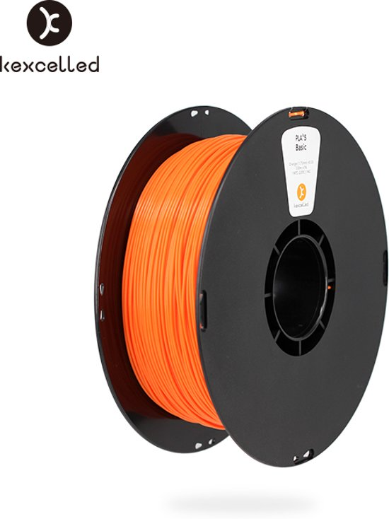 kexcelled-PLA-1.75mm-oranje/orange-1000g*5=5000g(5kg)-3d printing filament