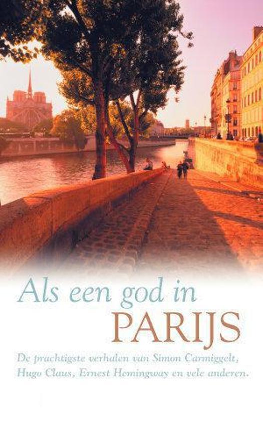 Als een god in Parijs - Voorkant