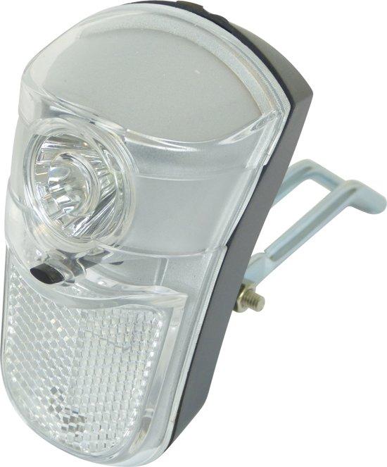 Dresco - Fietskoplamp - Tour - 1 LED - Chroom