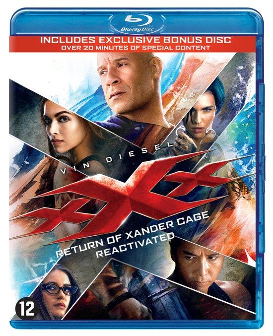 DVD cover van XXX: The Return Of Xander Cage (Blu-ray)