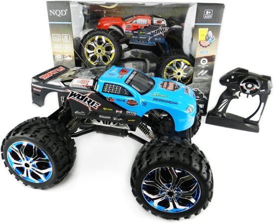 Bolcom Rc Monstertruck Car Radiografisch Bestuurbaar Cross Truck