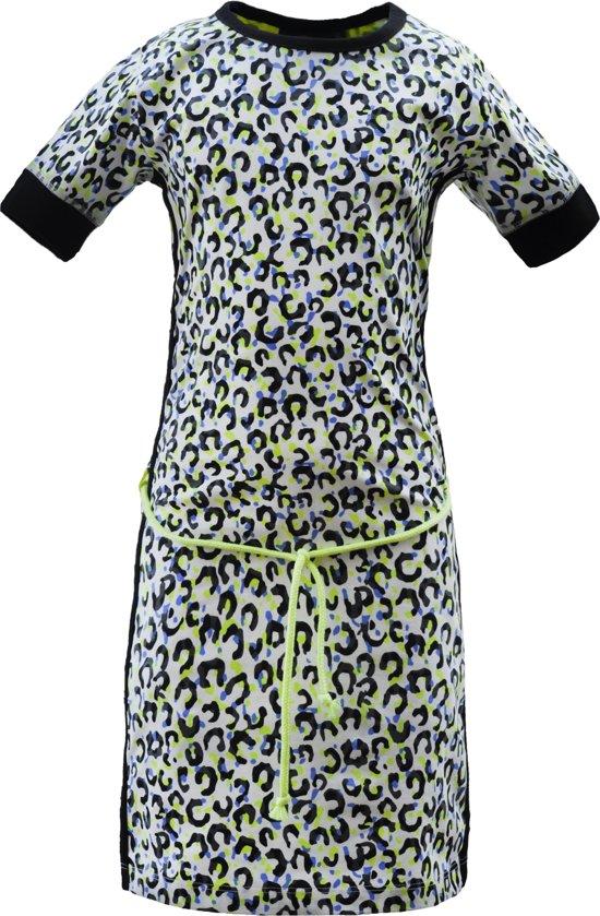 332443e3d7500b Nais Kidswear Jurk Carla - Multi-colour - Maat 158-164