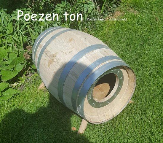 Katten Poezen schuilplaats (30 liter)