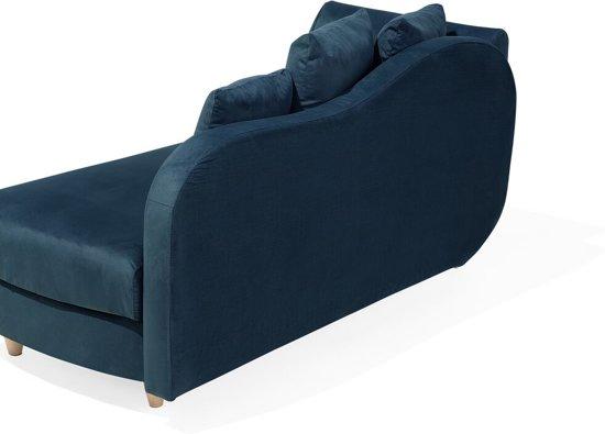 Beliani MERI 2-Zits bank Blauw polyester