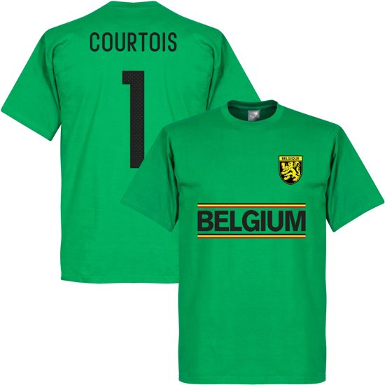 België Courtois Team T-Shirt - XS