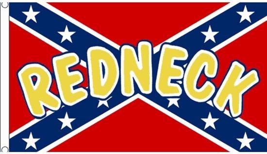 Redneck vlag 90 x 150 cm