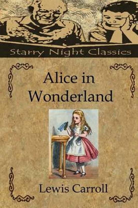 lewis carroll alice in wonderland thesis Lewis carroll's novels alice's adventures in wonderland and through the looking glass and what alice found there share many characteristics with the author's photographs.