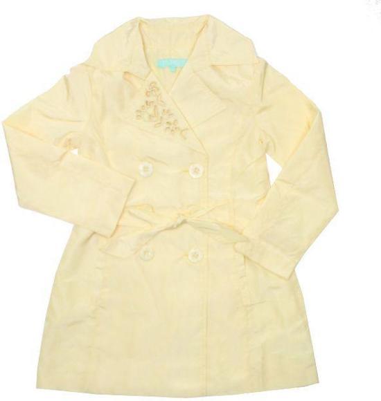 Vinrose Winterjas.Bol Com Vinrose Meisjes Trenchcoat Tina Pastel Yellow Maat 98
