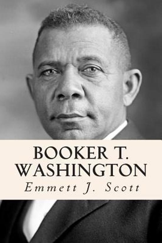 Boek cover Booker T. Washington van Emmett J Scott (Paperback)
