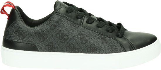 Guess Heren Sneaker Luiss Low Zwart Maat 43