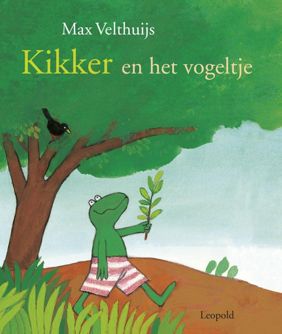 Boek cover Kikker - Kikker en het vogeltje van Max Velthuijs (Onbekend)