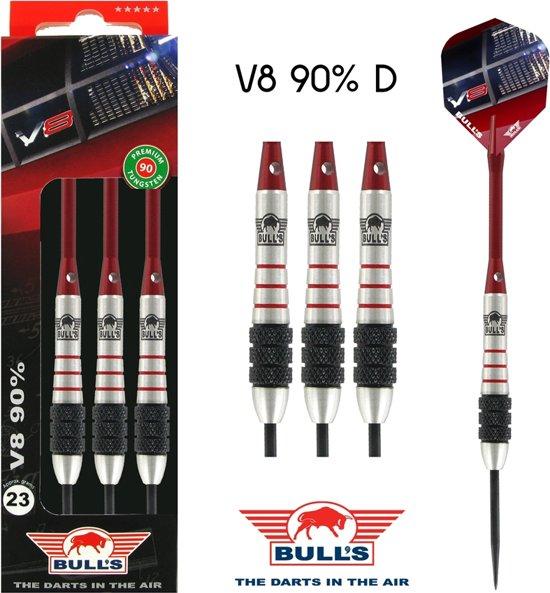 Bull's V8 90% D 23 gram Steel Dartset