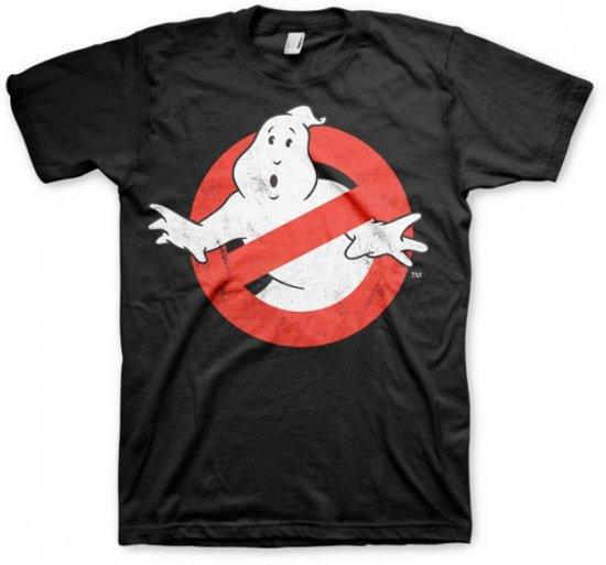 Ghostbuster t-shirt heren zwart L