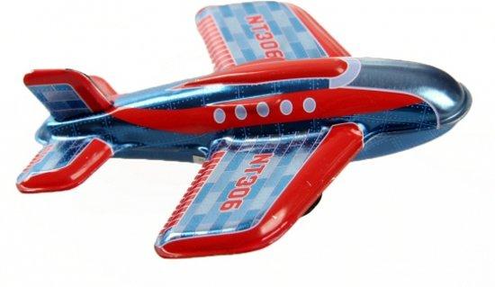 Blikken vliegtuigje NT306 11 cm