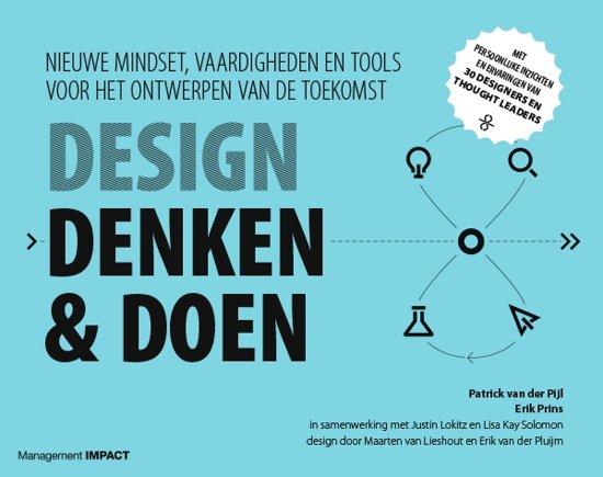 Boek cover Design denken & doen van Patrick van der Pijl (Paperback)