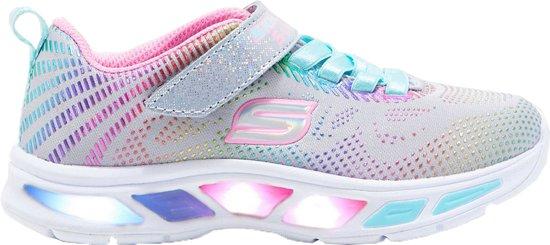 ff63ca87ed7 bol.com   skechers Sneakers - Maat 33 - Meisjes - grijz/roze