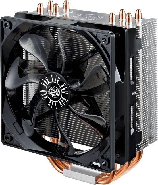 Hyper 212 Evo CPU Cooler Universal Tower cooler 4 CDC heatpipes 120mm 600-1600 RPM PWM fan - CPU-koeler