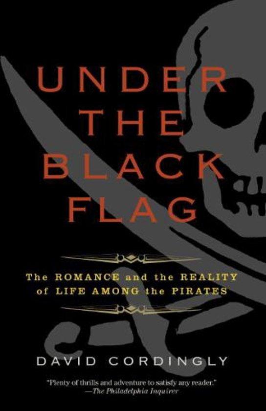 Boek cover Under the Black Flag van David Cordingly (Paperback)