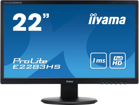 Iiyama ProLite E2283HS-B1 - Full HD Monitor
