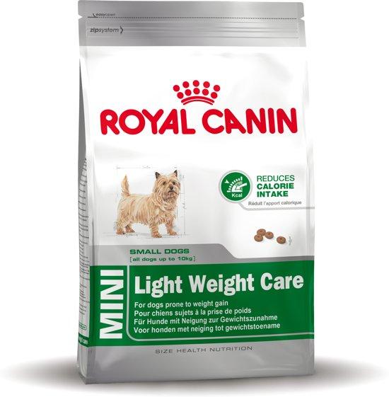 Bol Com Royal Canin Mini Light Weight Care Hondenvoer