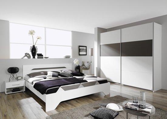 rauch rubi slaapkamerset 4 delig alpinewitlavagrijs 160x200 cm