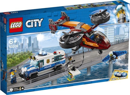 LEGO City Luchtpolitie Diamantroof - 60209