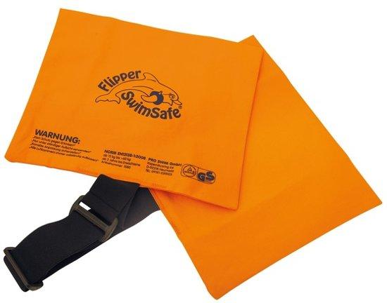Fipper Swimsafe zwemkussen oranje