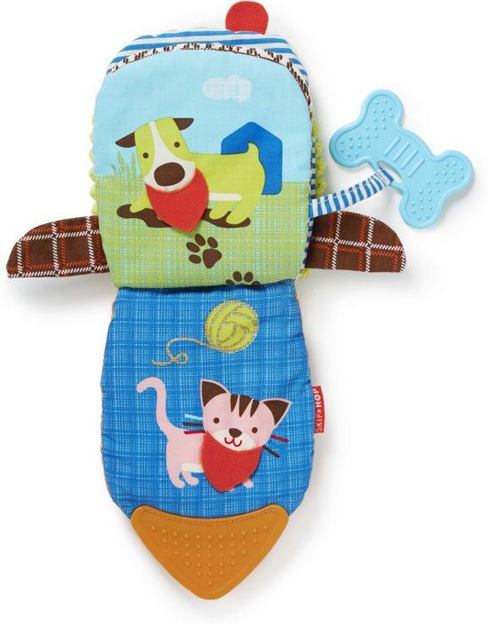 Skip Hop bandana buddies activity boek hond bandana buddies activity knuffel hond