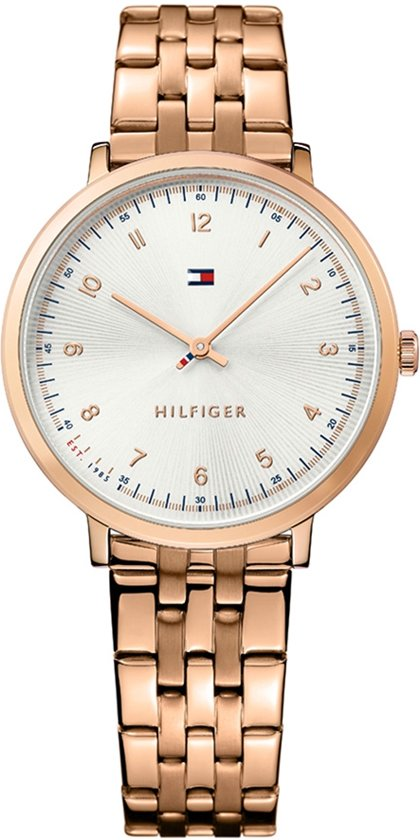 Tommy Hilfiger TH1781760 horloge dames - ros� - edelstaal PVD ros�