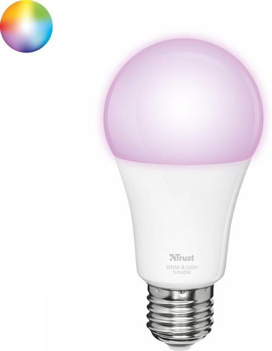 Dimbare Led Lamp Ikea.Trust Smart Home Dimbare E27 Led Lamp White And Color