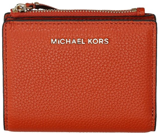 Michael Kors Jet Set Snap portemonnee burnt orange