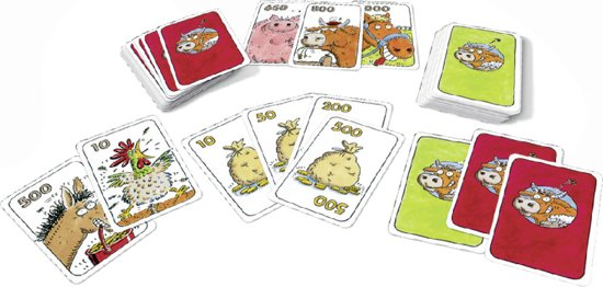 Thumbnail van een extra afbeelding van het spel Ravensburger Koehandel - Kaartspel