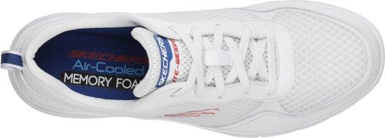 Maat46 0 Flex 3 Skechers Sneakers White Heren Advantage Blue Uq8Wwtz